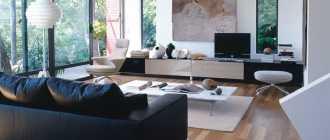 Черные диваны: описание с фото, отзывы