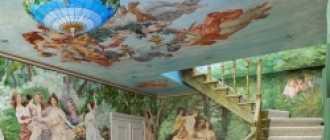 Художественная Роспись Потолков: Современные Техники, Фото