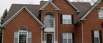 Цокольный и фасадный сайдинг под кирпич: металлический, виниловый, фиброцементный (фото домов)