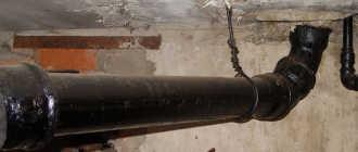 Трубы чугунные канализационные. Разновидности и способы монтажа