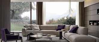 Советы по выбору мягкой и современной мебели в зал