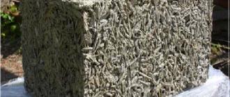 Что такое арболит и его основные свойства : описание и особености, фото