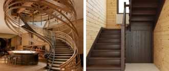 Что такое забежные ступени для лестницы и виды таких лестниц