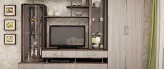 Шкафы для гостиной – примеры и варианты исполнения, отзывы