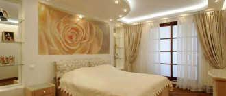 Современные потолки из гипсокартона для спальни (35 фото-идей)