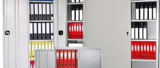 Шкаф в кабинет, назначение и особенности, правила размещения